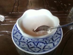 Tapioca Pudding w/ Corn