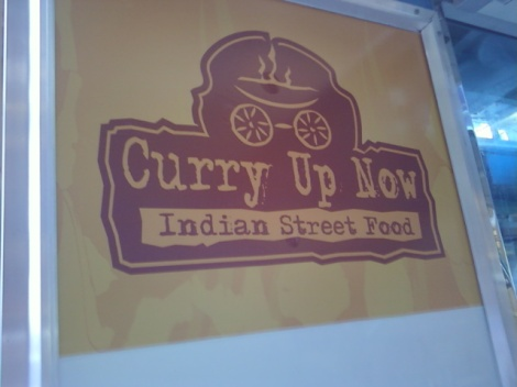 Curry Up Now Indian Street Food Truck
