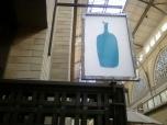 blue bottle coffee signage