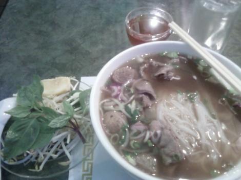Beef Pho  (Vietnamese Beef Noodle Soup)