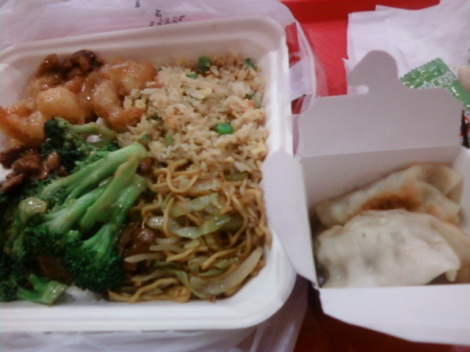 Chinese Fast Food Take Out