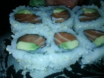 salmon and avacado roll