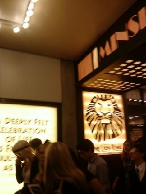 Broadway's Lion King