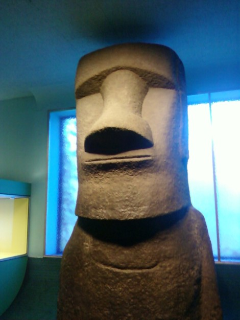 easter island head (featured in A Night at the Museum)