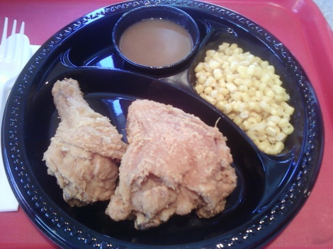 fried chicken at jollie bee