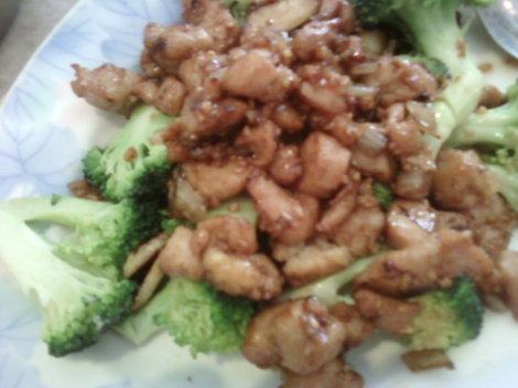 Garlic Chicken at Tai Chi