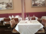 another interior shot of aux delices