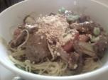 Beef Satay Noodles