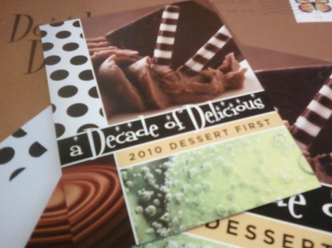 """""""a decade of delicious"""" (fundraiser) invite from project open hand"""
