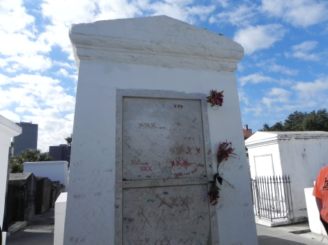 Voodoo Queen, Marie Laveau's Grave
