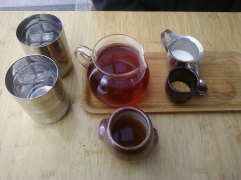 Tea at Samovar Tea Lounge