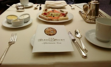 Afternoon Tea at The Garden Court in The Palace Hotel