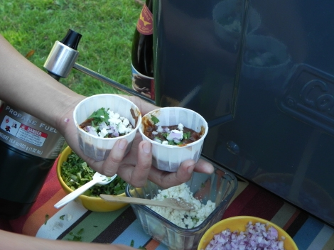 Gourmet Chili at Golden Gate Park