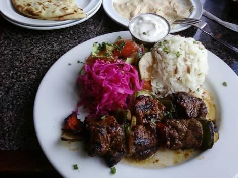 shish kebab plate