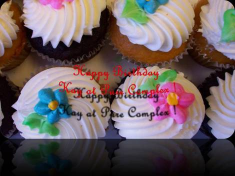 Happy Birthday Kay at Pure Complex