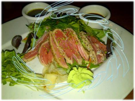 Quick-Seared Ahi Tuna Appetizer