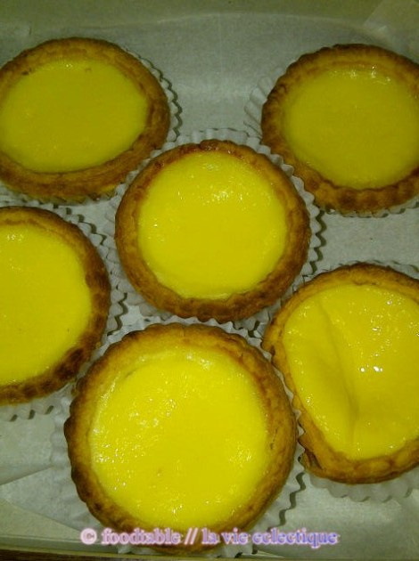 Chinese Egg Tarts from Golden Gate Bakery in SF