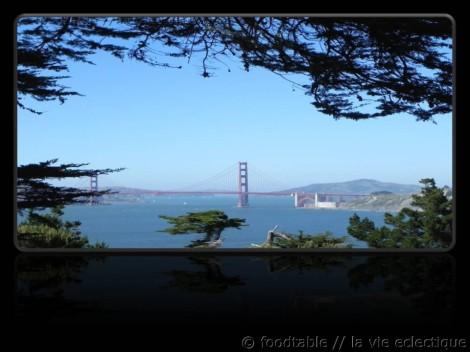 Golden Gate Bridge Reflections