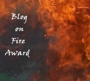 blog on fire