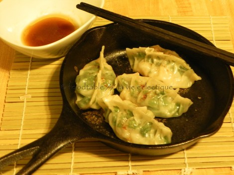 Shrimp & Basil Pot Stickers
