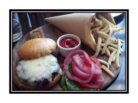 Corners Tavern Burger
