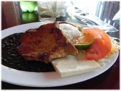 Pork Chop at Soda La Teresita