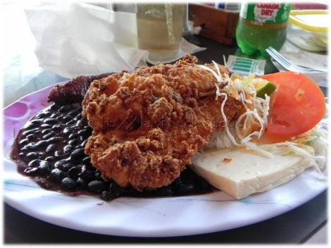 Fried Fish at Soda La Teresita
