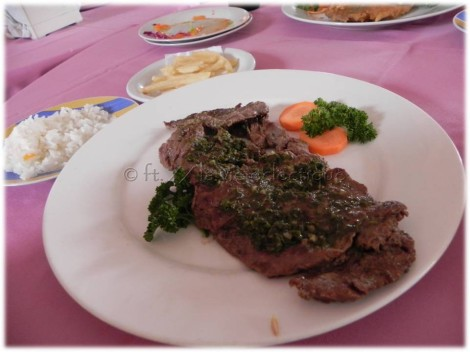 steak lunch nicaragua