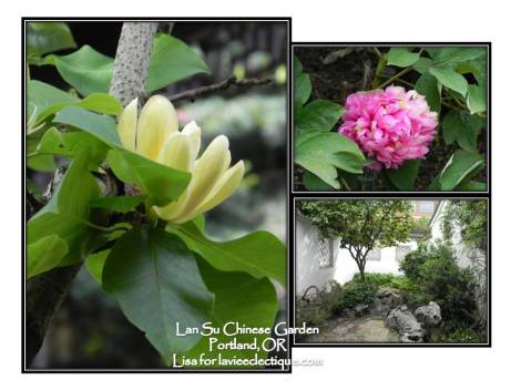 Flowers at Lan Su