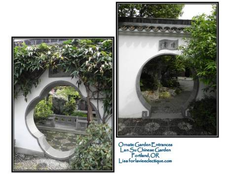 Lan Su Garden Entrances