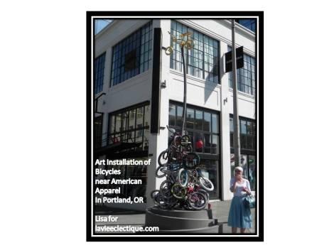 Portland Bicycle Art