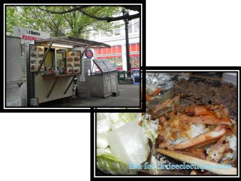 No 1 Bento Korean food truck