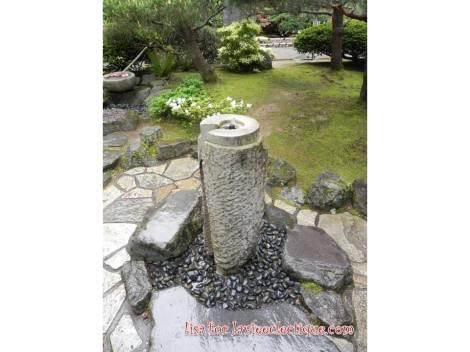 water fountain inside PJG
